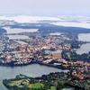 Germany Schwerin Aerial View Ar M