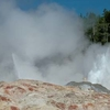 Geyser In Norris Basin