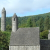Saint Kevin's Monastery At Glendalough