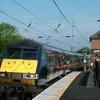 G N E R Train Steams Into Alnmouth