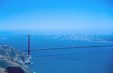 Golden Gate Bridge Over SanFran Bay