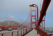Golden Gate Bridge Walkway
