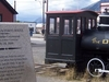 Golden Spike Monument At Carcross Yukon