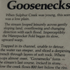 Goosenecks Of Sulphur Creek Info Plaque
