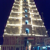 Gopuram At Night