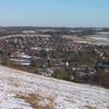 Goring Gap In Winter