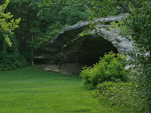 Graham Cave State Park Campground