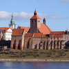 Granaries Along River Vistula
