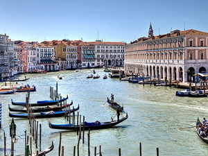 Grand Canal Venice and Saint Marco Square Photos