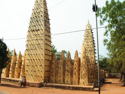 Grand Mosque In Bobo-Dioulasso