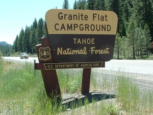 Tahoe Granite Flat Campground