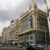 Gran Via View In Madrid