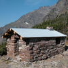 Gunsight Pass Shelter - Glacier - USA