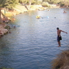 Natural Warm Water Pool At Gan HaShlosha National Park