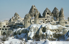 Goreme In Winter