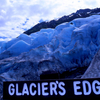 A Footpath Ends At The Edge Of The Glacier