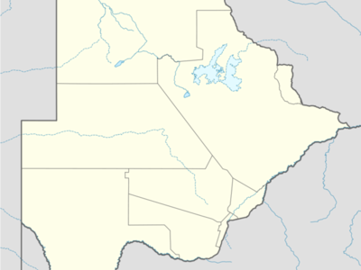 Gojwane Is Located In Botswana