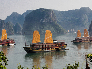 Ha Long Bay on Golden Lotus Cruise with Kayaking Photos