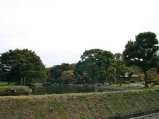 View Of Hamarikyu Gardens