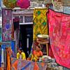 Hampi Bazar Full Of Vibrant Colors