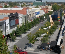 Hargreaves Mall, Bendigo's Main Shopping Area