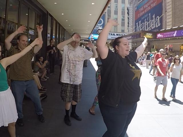Haunted Broadway Walking Tour Photos