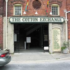Haunted Cotton Exchange Tour