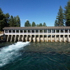 Headwaters Of Truckee River At Lake Tahoe Dam
