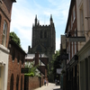 Hereford Cathedral From Church Street
