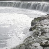 He Venta Waterfall Shrouded In Mist