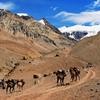 Hiking Andes - Mendoza Argentina