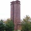 Historic Grain Silos Fenville Michigan
