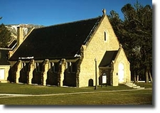 Historic Community Hall / Chapel - Fort Yellowstone - USA