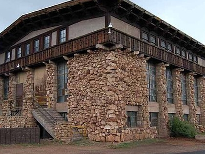 Historic Grand Canyon Power House - Arizona - USA