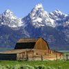 Historic Grand Teton National Park - Wyoming - USA