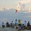 Hoi An Beach Crowd