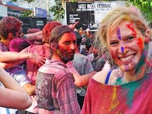 Holi Tour Nepal Photos