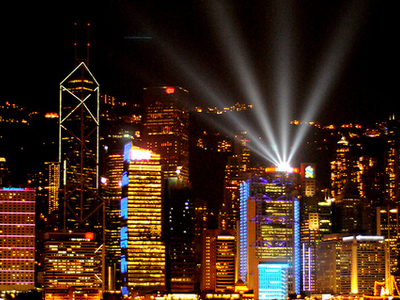 Hong Kong Light Show
