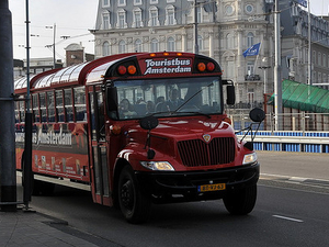 Hop on hop off Amsterdam GPS city bus and boat tour Photos