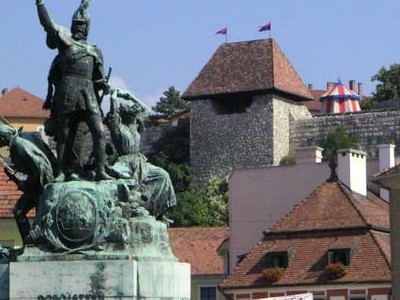 Hungary  Eger  Dobo Ter