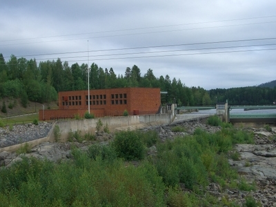 Hydroelectic Power Station Arbr