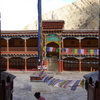 The Courtyard Of Hemis Monastery