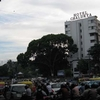 RC Road Traffic At Signal - Bangalore
