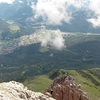 Imst Seen From The Vordere Platteinspitze