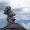 Volcanic Activity At Anak Krakatau