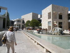The Inner Courtyard Of The Museum
