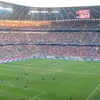 Inside Allianz Arena During A Match