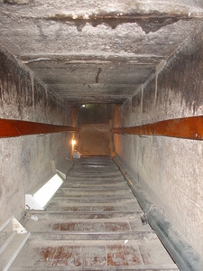 Inside Snofru Red Pyramid