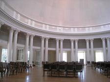 Inside The Dome Room Of The Rotunda