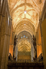 Interior Of Cathedral Of Seville